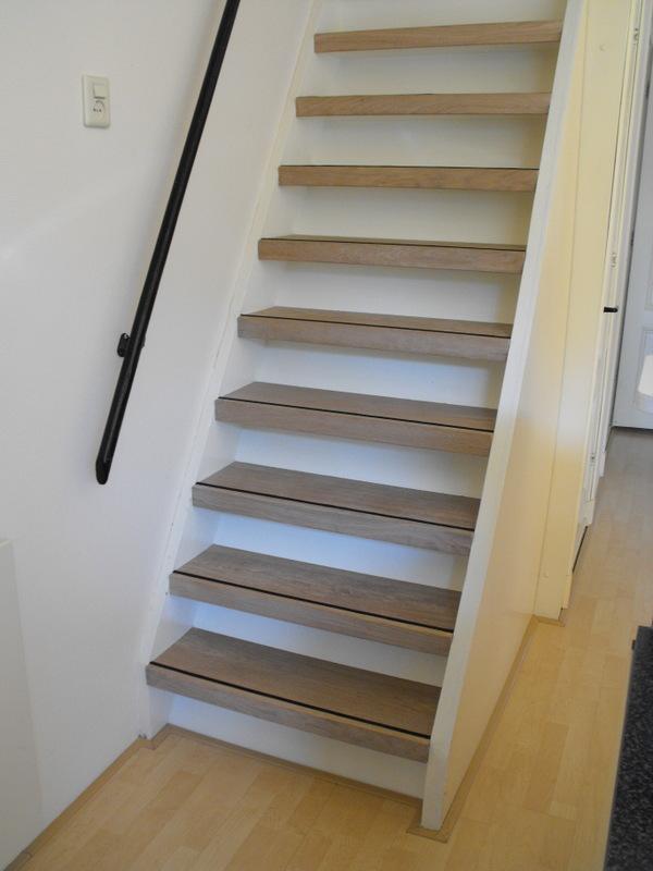 Trapbekleding vloerengalerie for Hoeveel traptreden heeft een trap