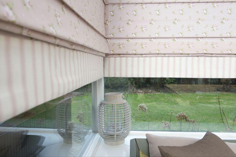 Gordijnen inbetweens vitrage vloerengalerie