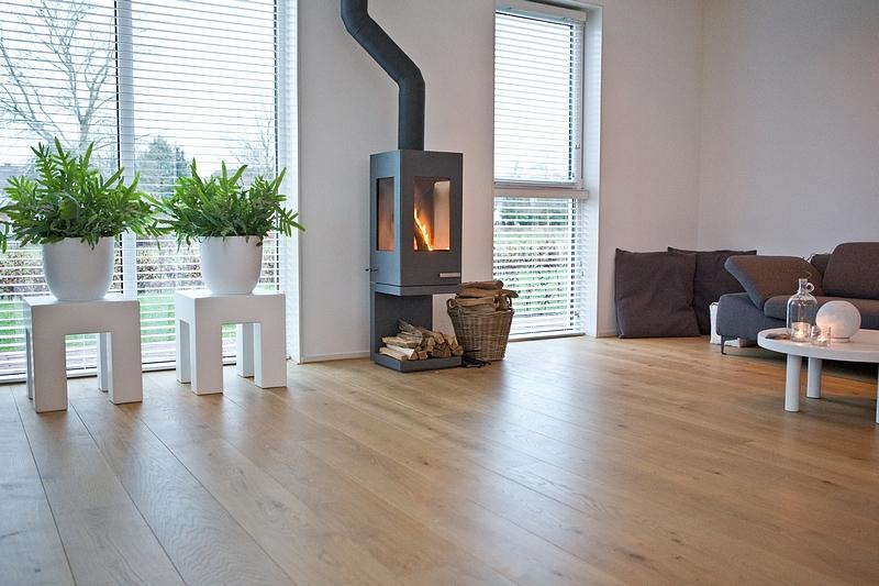 Wit eiken woonkamer : De vloer is de basis van je interieur De ...