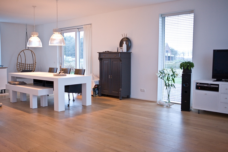 Kleur woonkamer inspiratie - Kleur verf moderne woonkamer ...
