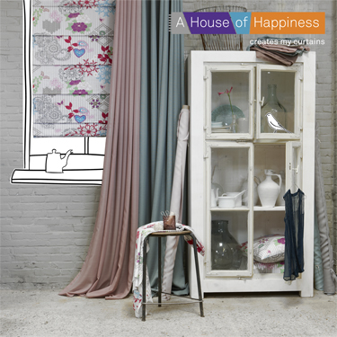 je vindt bij ons de gordijncollectie van vadain a house of happiness bamar interplan en dekortex